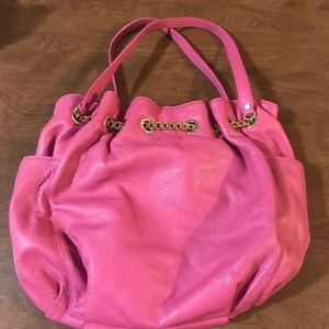 Handbags - Bright pink large bag